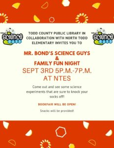 Mr. Bond's Science Guys @ North Todd Elementary School